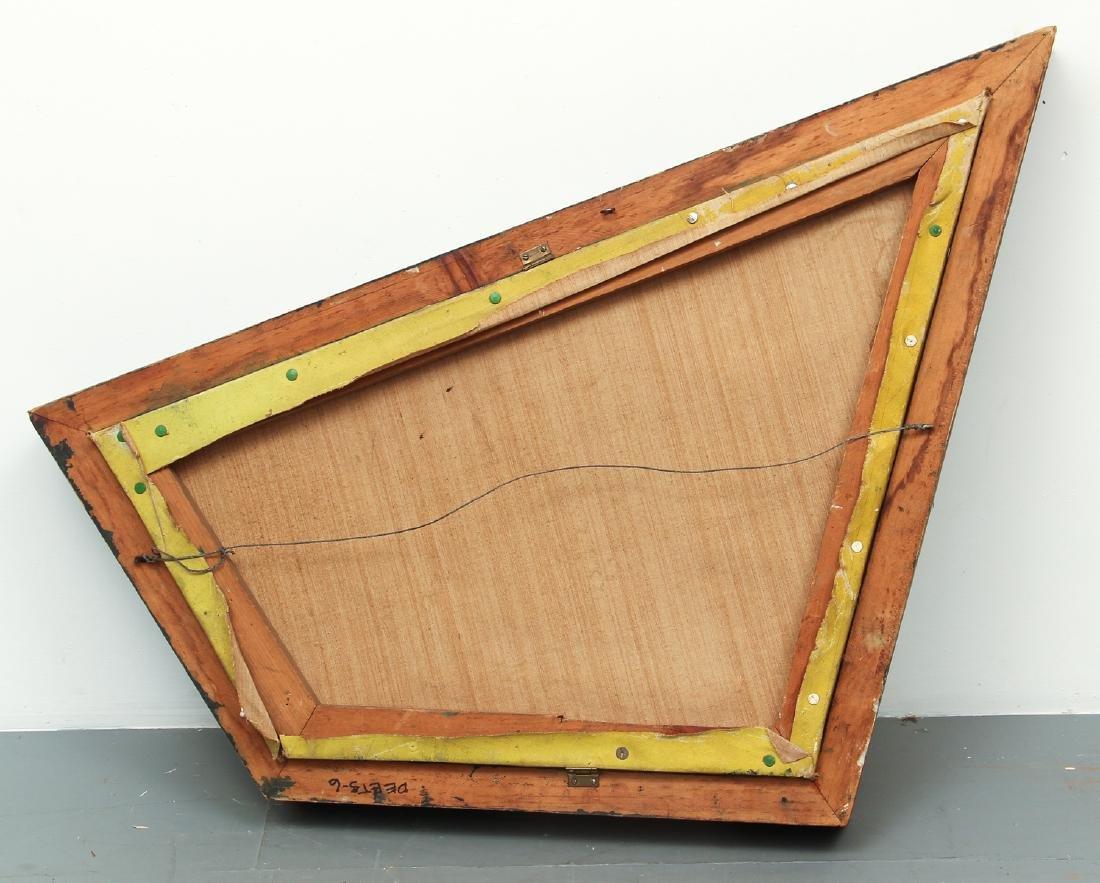 Arthur Rudolf 1952 oil Surrealist Checkerboard Vortex - 8
