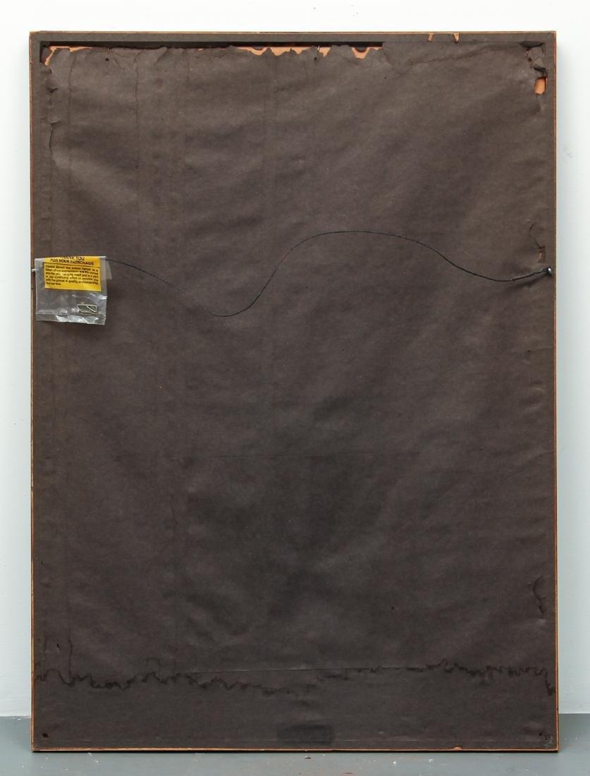 Milton Weiss Brush Stroke Abstract Art Work - 7