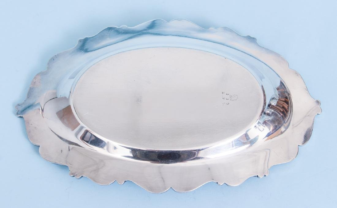 Silverplate Sauce Boat and Under Plate - 10