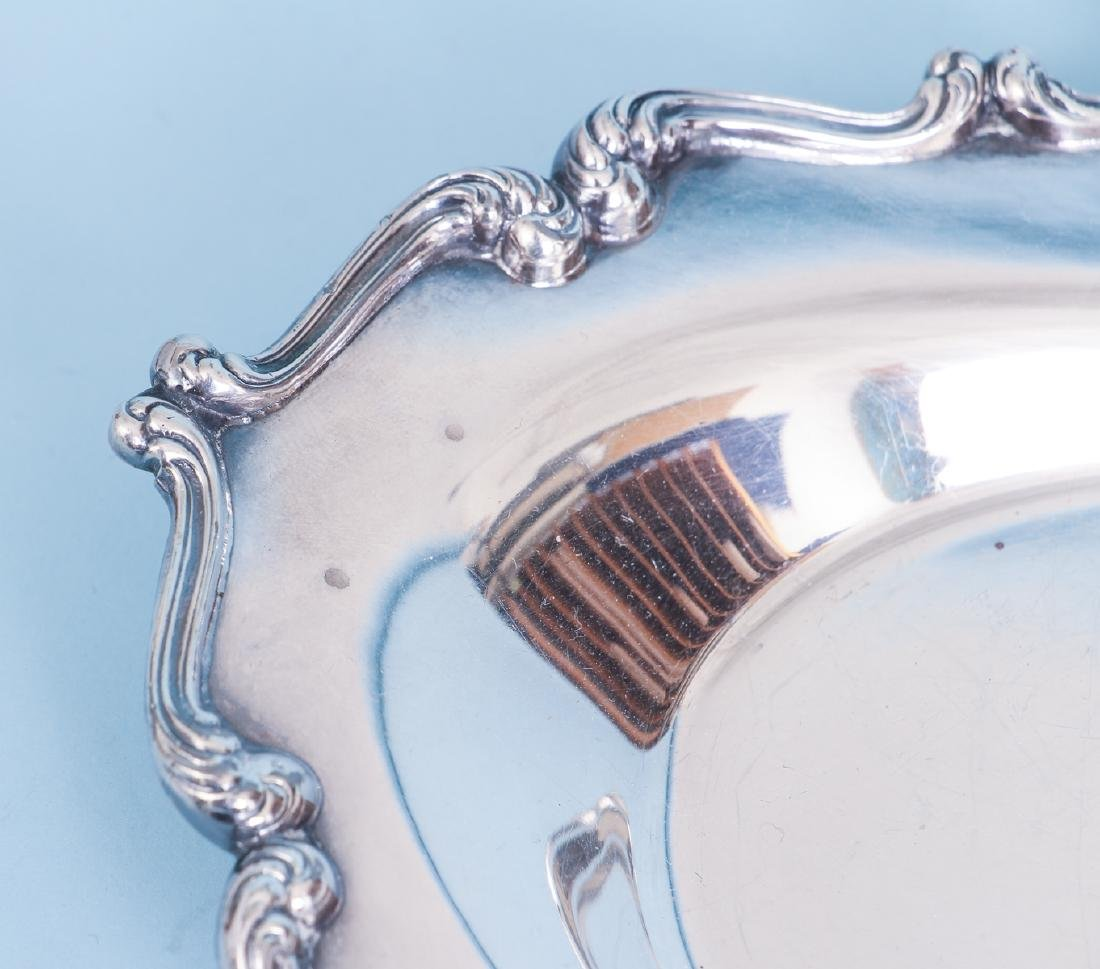 Silverplate Sauce Boat and Under Plate - 9