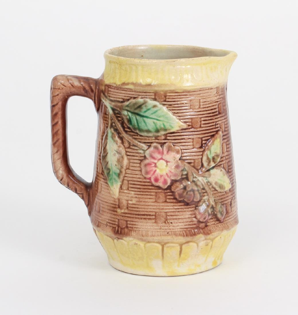 Three Majolica Pitchers of Various Size - 5