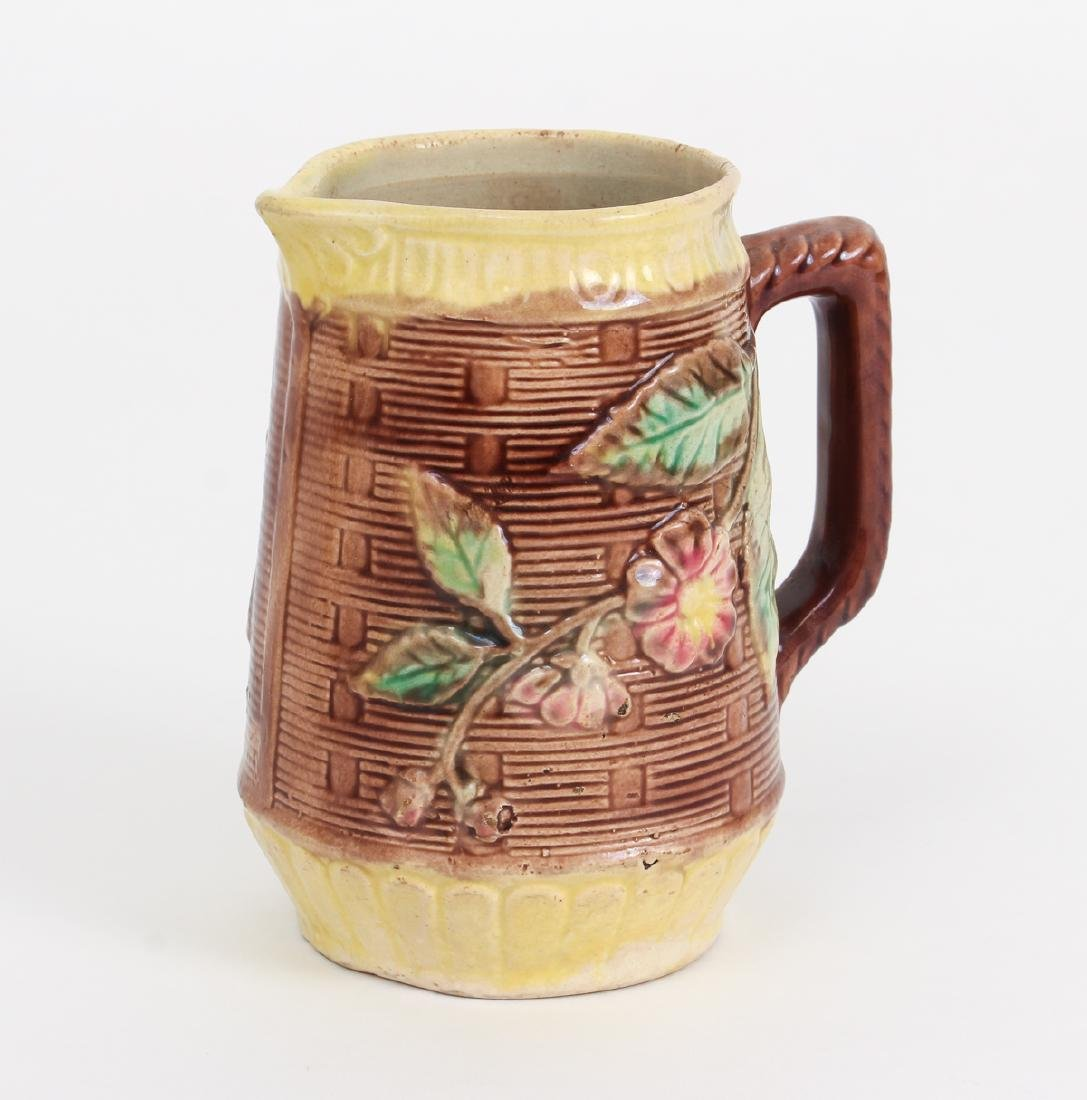 Three Majolica Pitchers of Various Size - 6