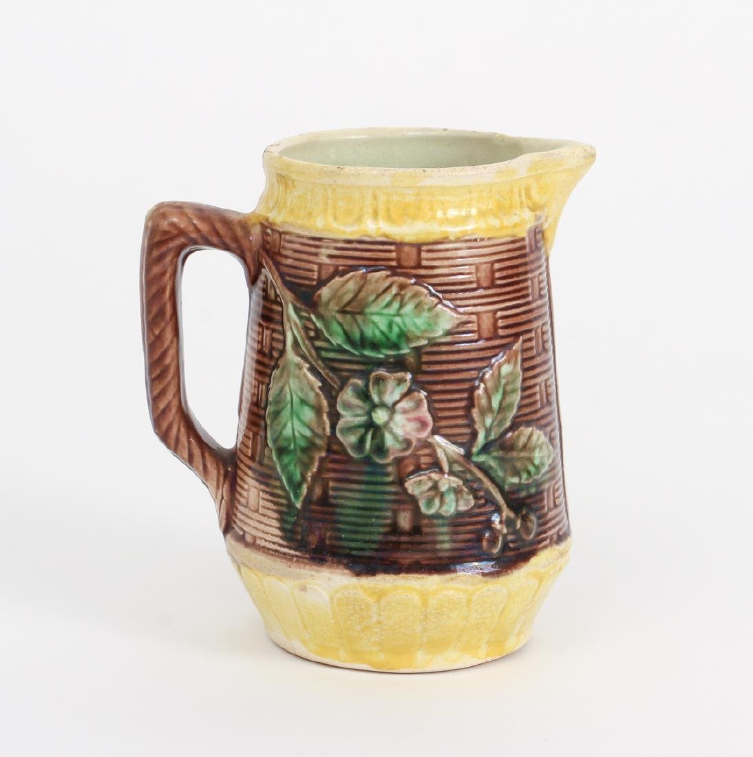 Three Majolica Pitchers of Various Size - 8