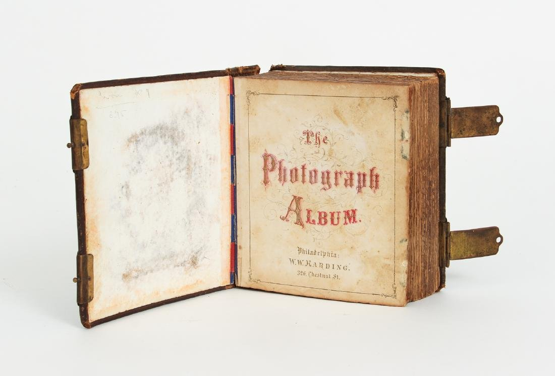 Two Victorian Book Form Photograph Albums - 5