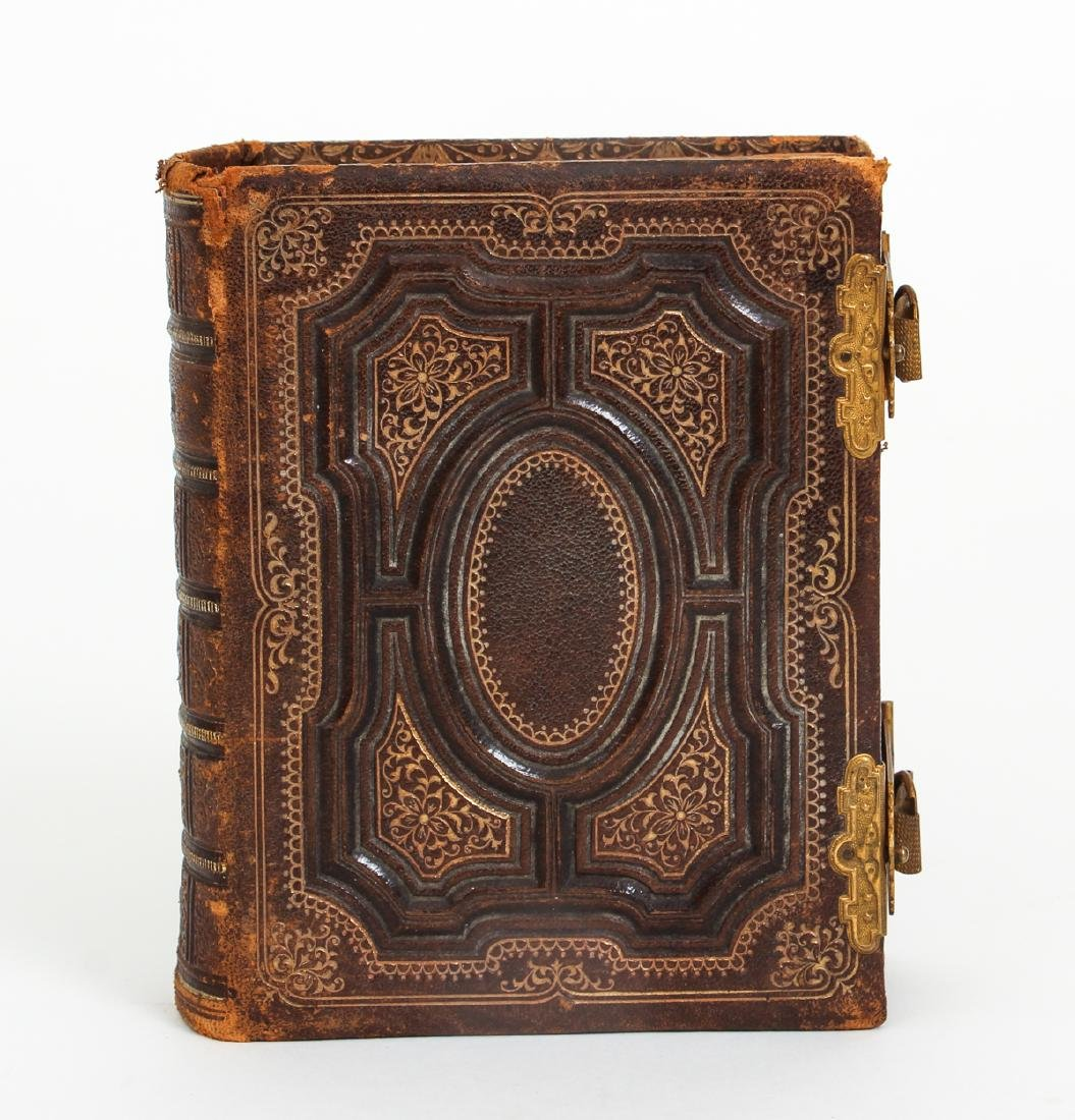 Two Victorian Book Form Photograph Albums - 9