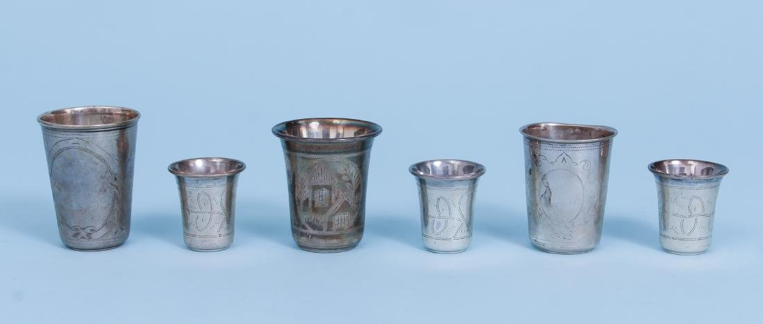Russian and French Silver Drinking Vessels