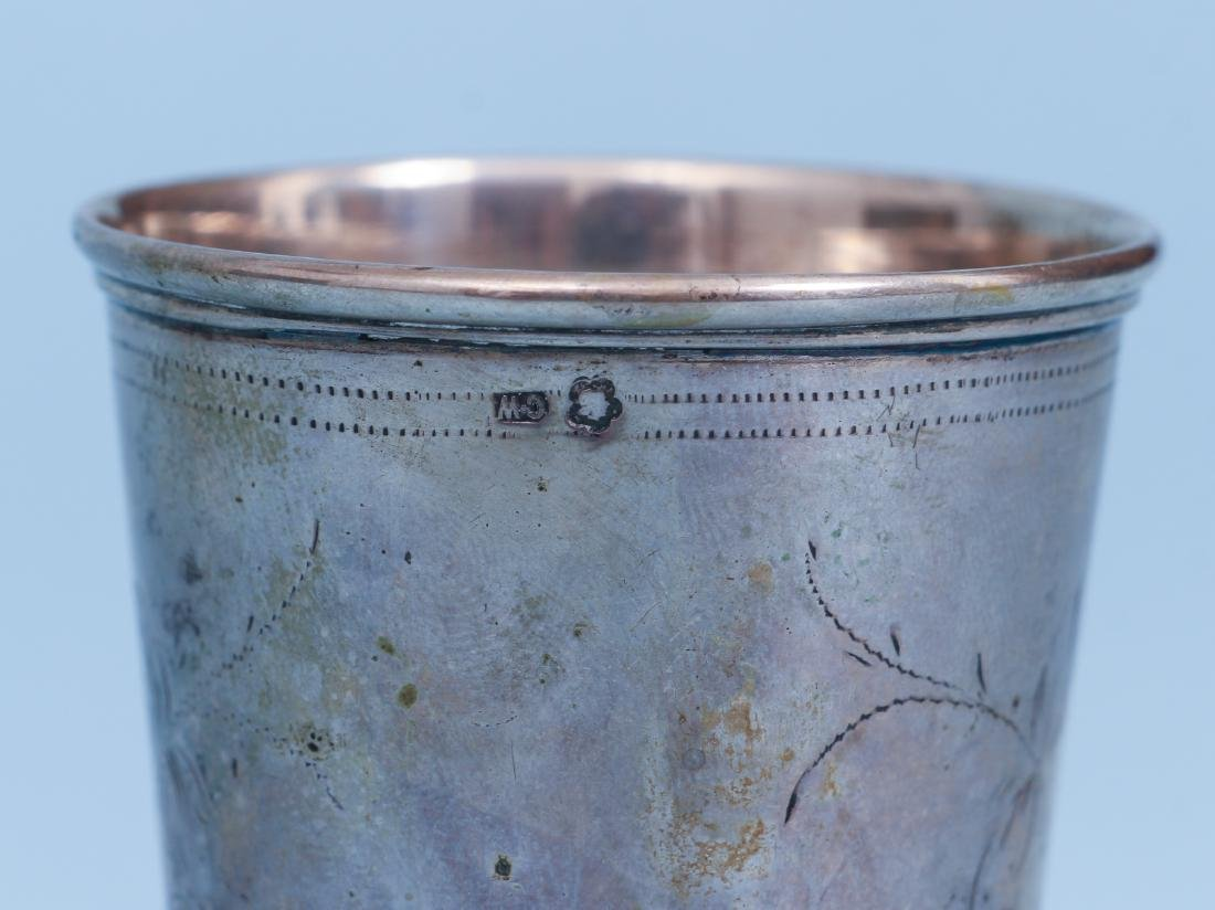 Russian and French Silver Drinking Vessels - 4