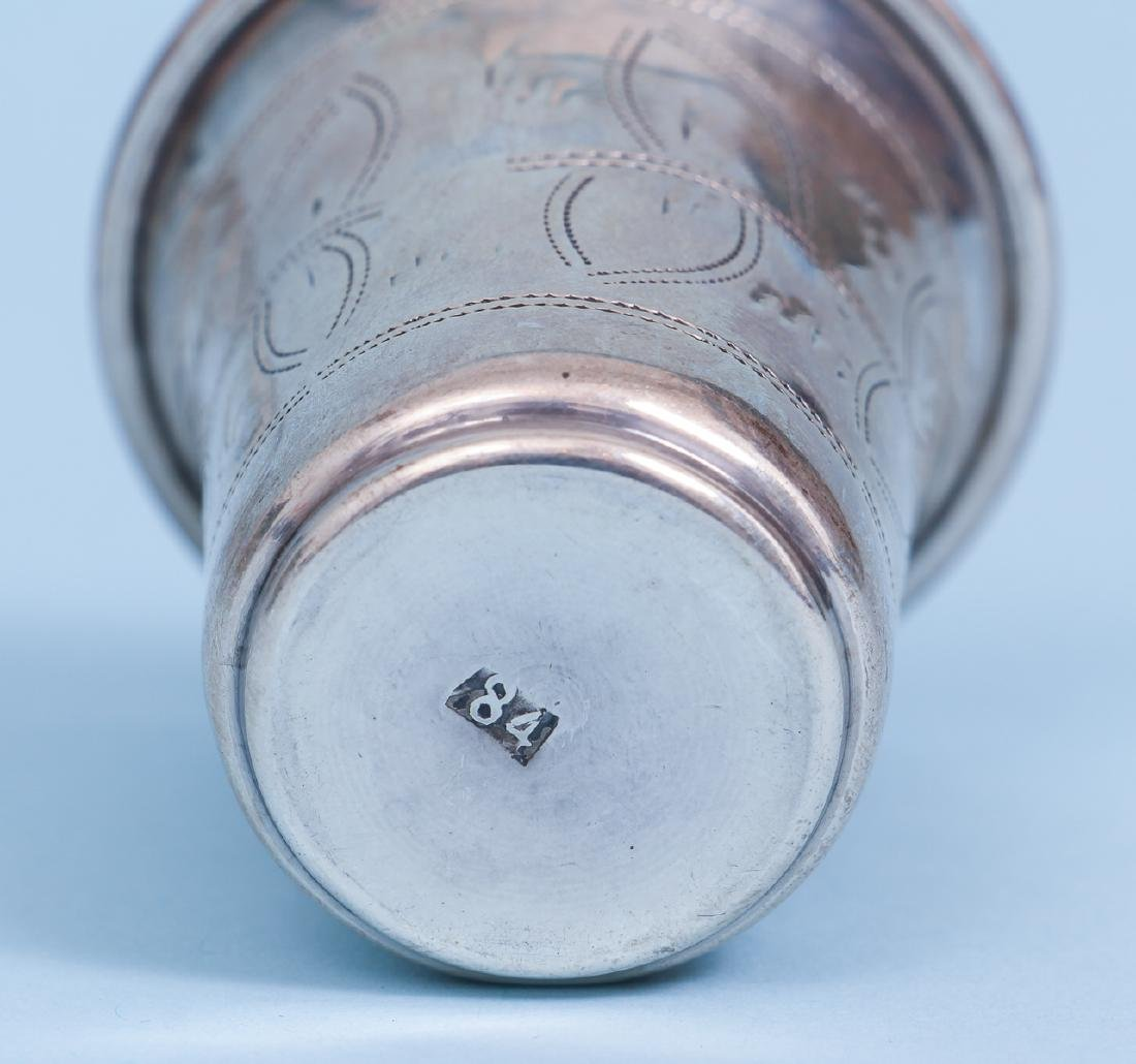 Russian and French Silver Drinking Vessels - 6