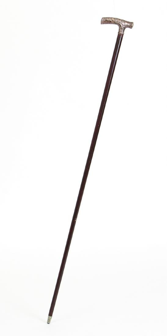 Two Sterling Accented Canes - 9