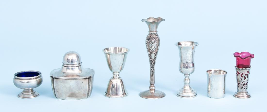 Group of Miscellaneous Sterling Silver Items