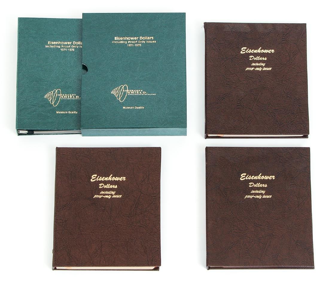 Four Sets of Eisenhower Dollars - 2