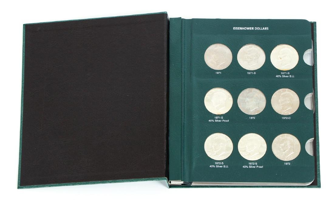 Four Sets of Eisenhower Dollars - 3