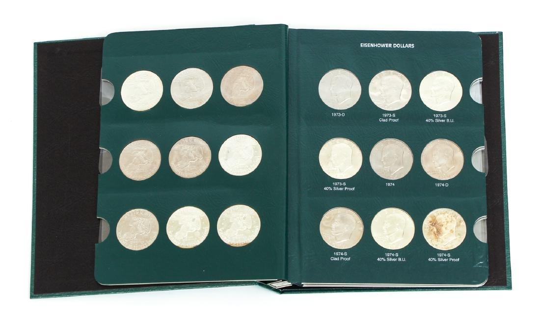 Four Sets of Eisenhower Dollars - 4