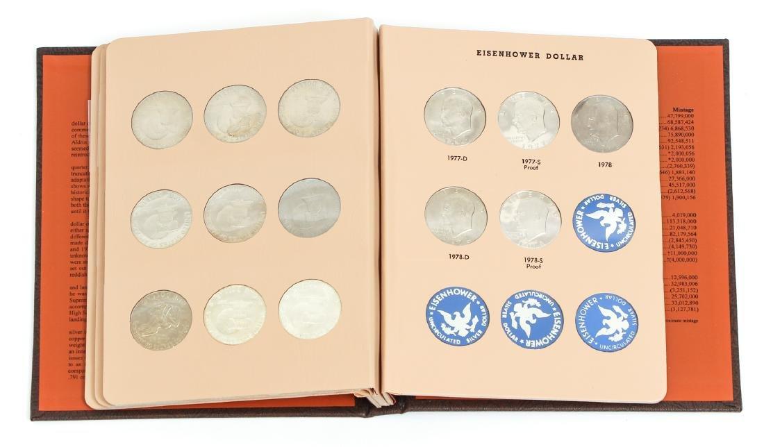 Four Sets of Eisenhower Dollars - 7