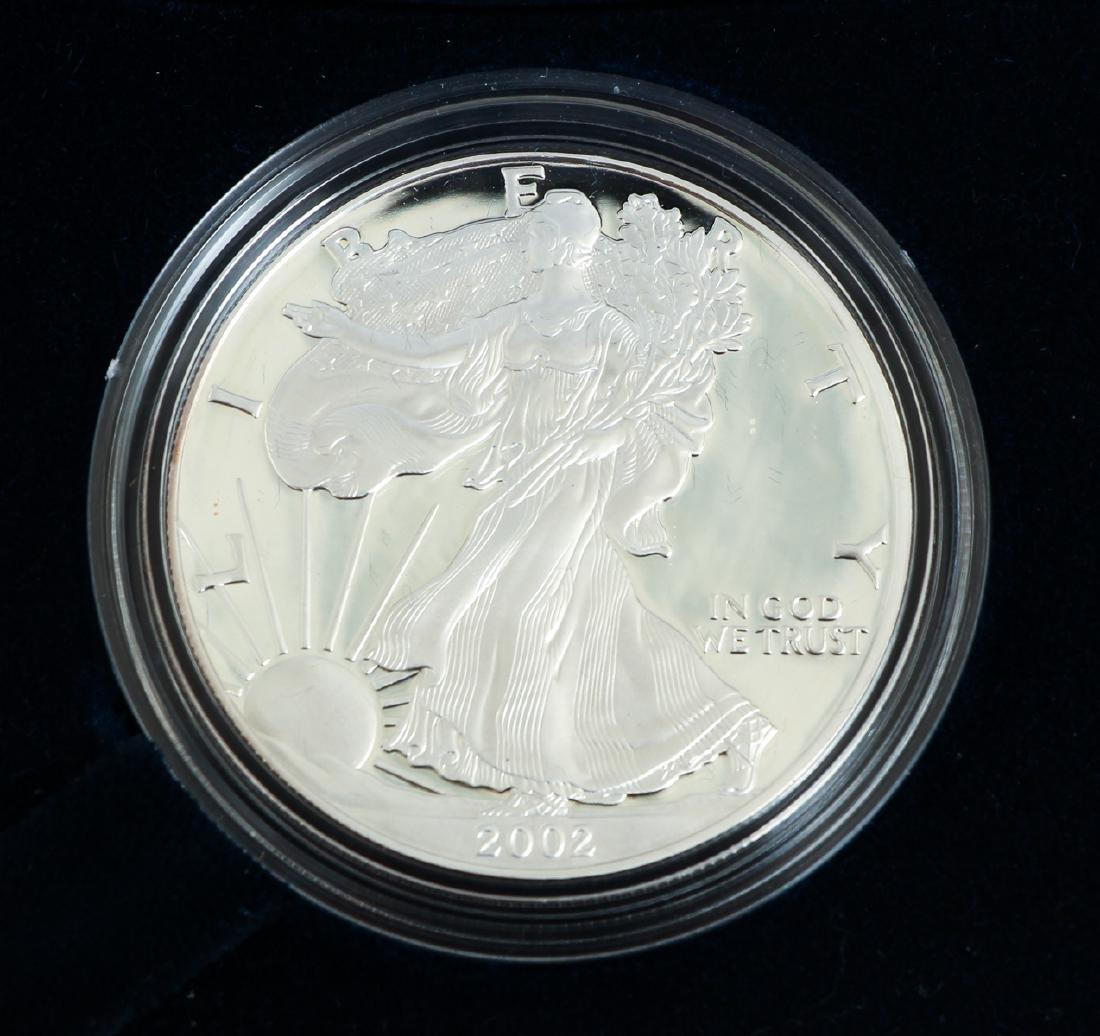 Five American Eagle Silver Dollars - 7