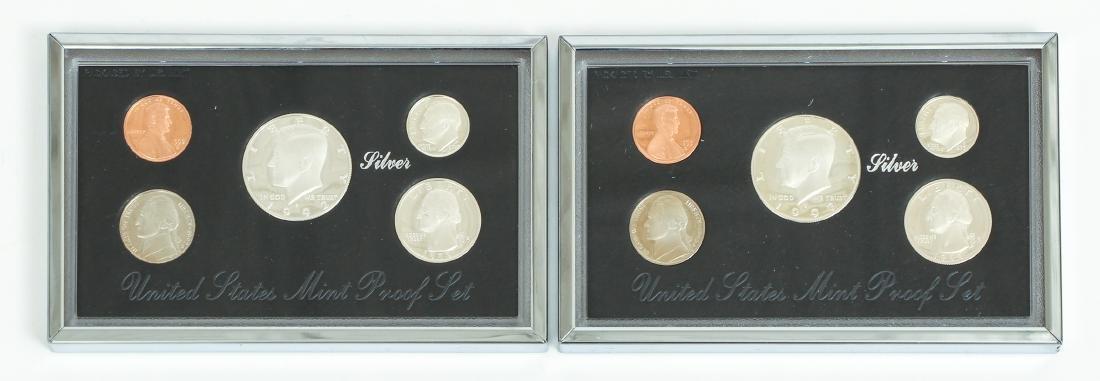 Seven US Mint Silver Proof Sets - 3
