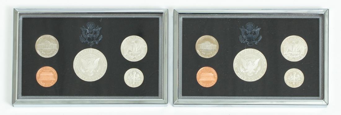 Seven US Mint Silver Proof Sets - 4