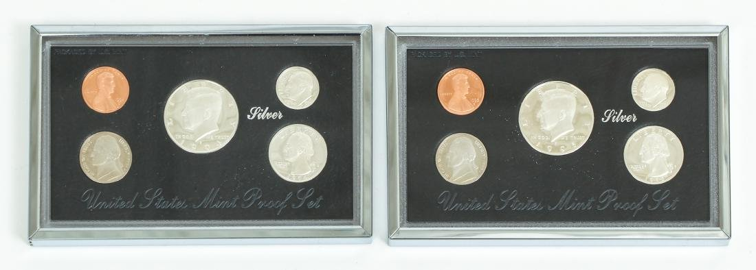 Seven US Mint Silver Proof Sets - 5