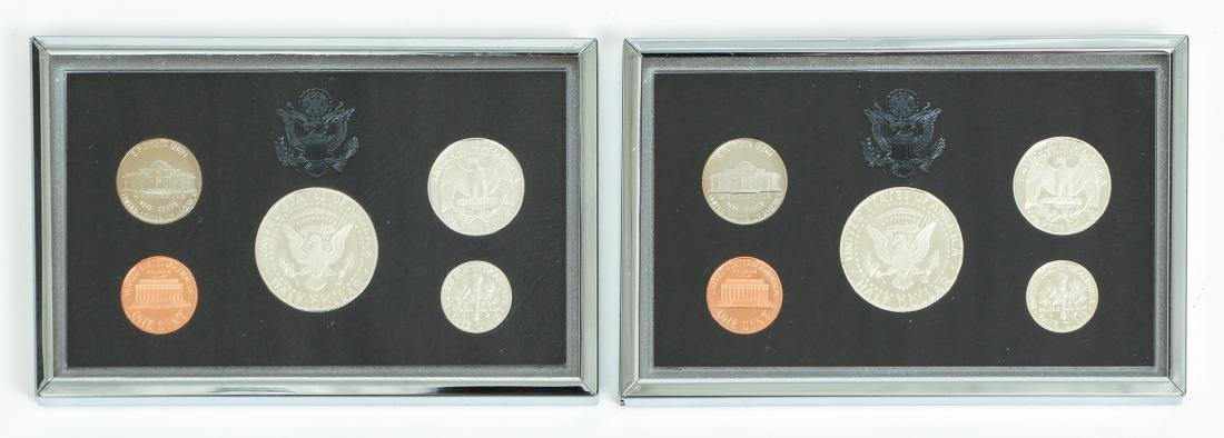 Seven US Mint Silver Proof Sets - 6