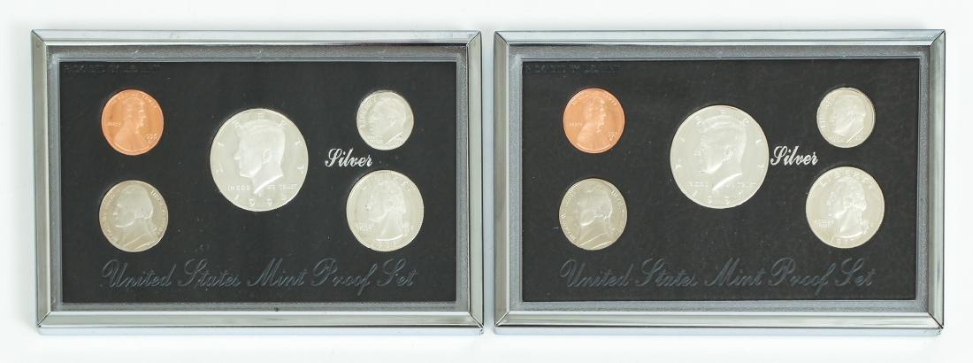 Seven US Mint Silver Proof Sets - 7