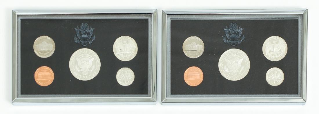 Seven US Mint Silver Proof Sets - 8