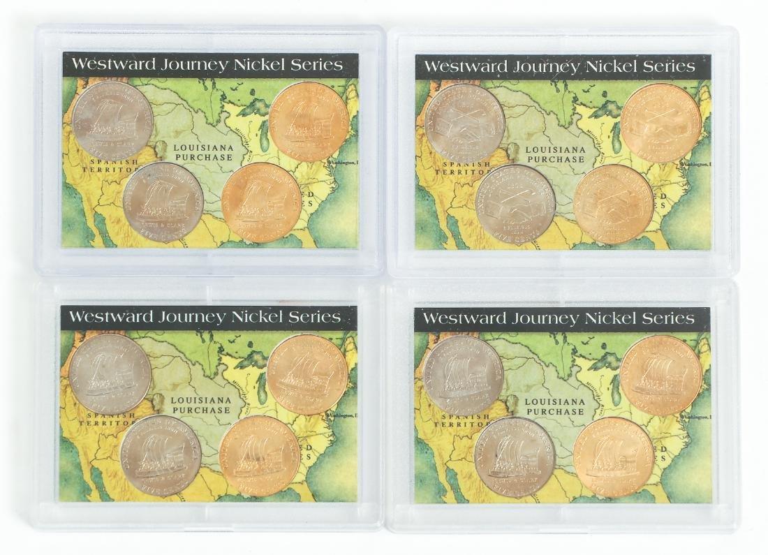 Ninety Two Westward Journey Series Nickels - 10