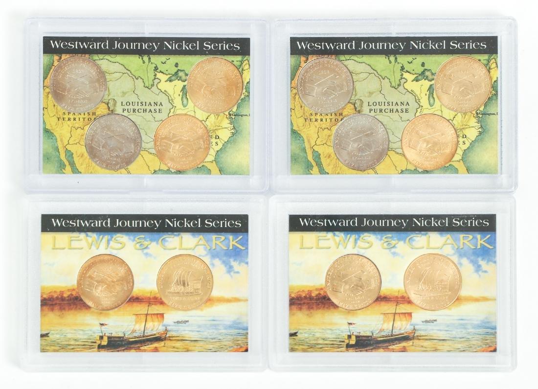Ninety Two Westward Journey Series Nickels - 2