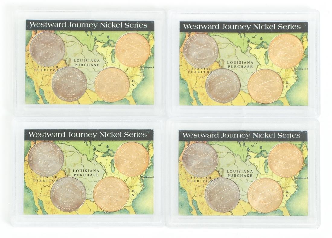 Ninety Two Westward Journey Series Nickels - 4