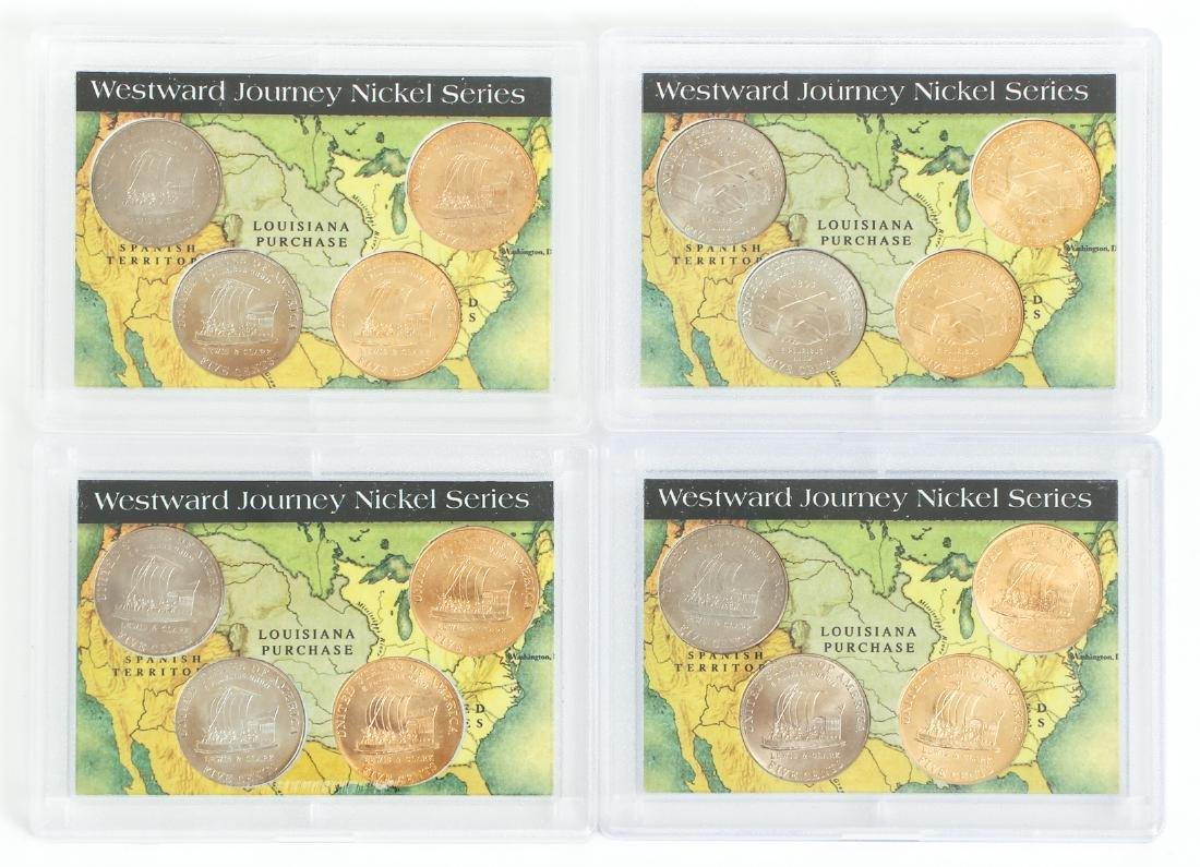 Ninety Two Westward Journey Series Nickels - 8