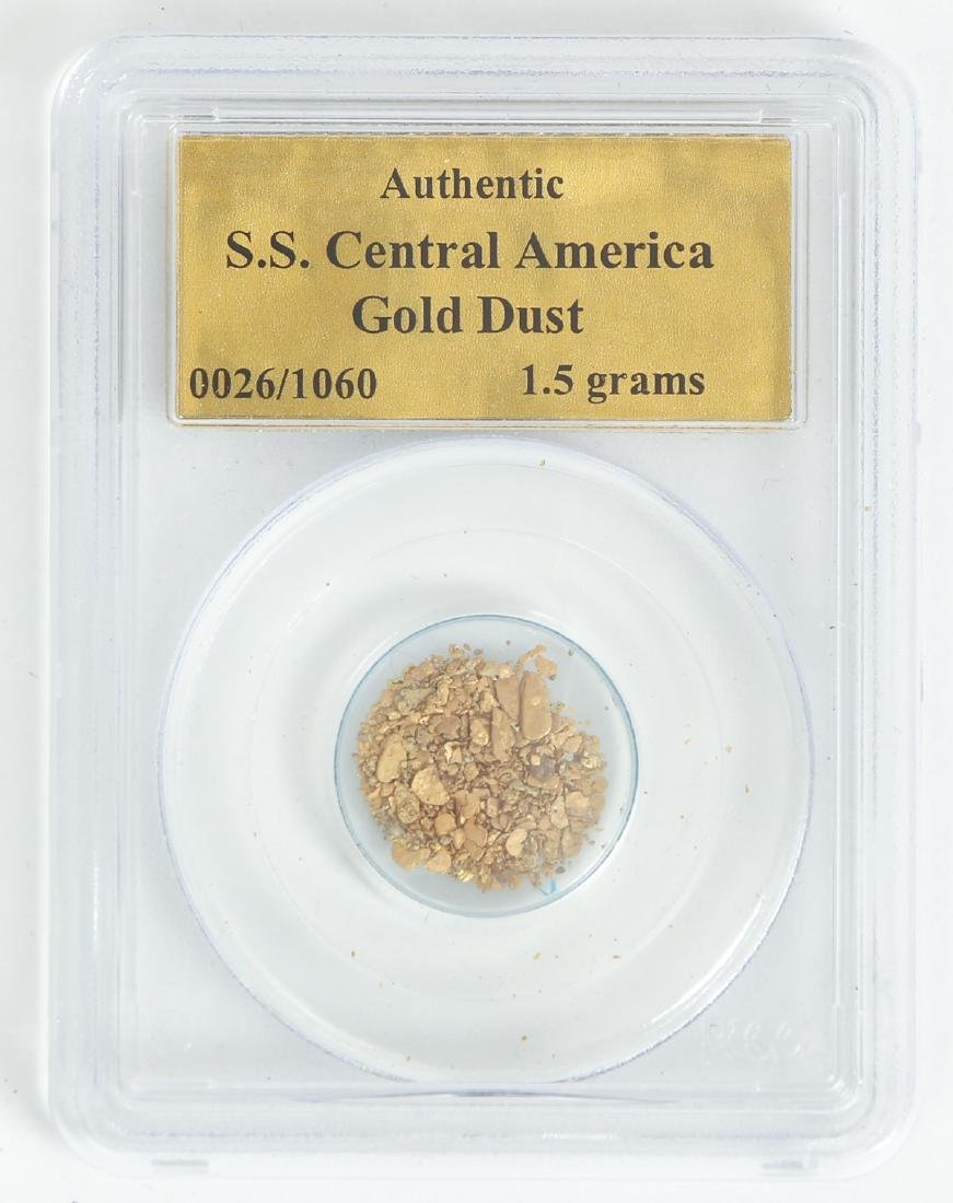 S.S. Central America Shipwreck Gold Dust