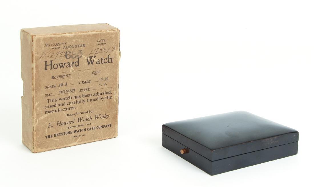Howard 14 K Gold Pocket Watch - 10