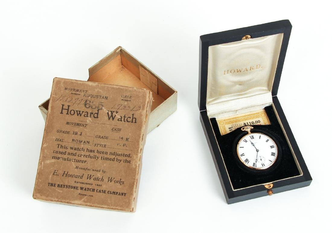 Howard 14 K Gold Pocket Watch