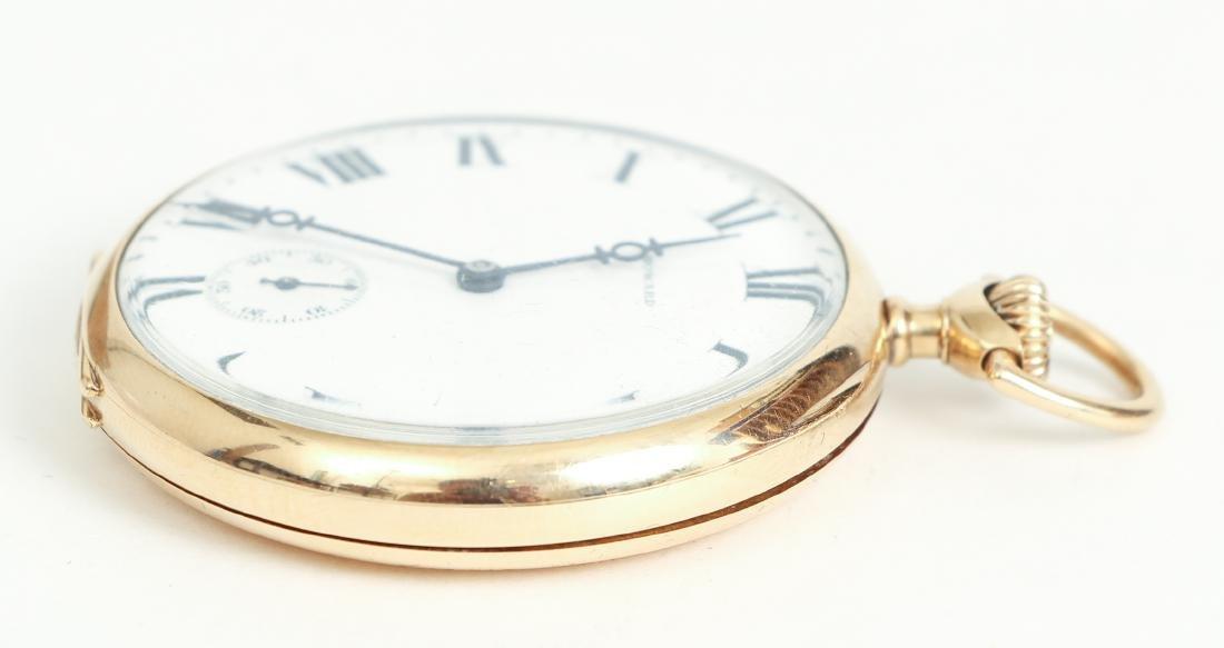 Howard 14 K Gold Pocket Watch - 3