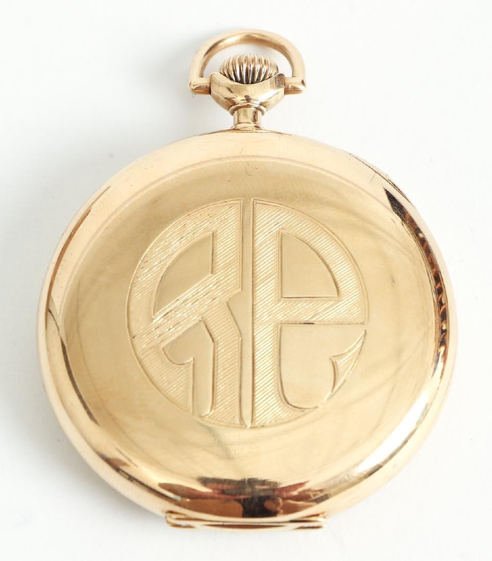 Howard 14 K Gold Pocket Watch - 4