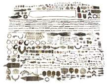 Large Group of Asian Jewelry Components