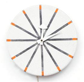 George Nelson for Meridian Howard Miller Wall Clock