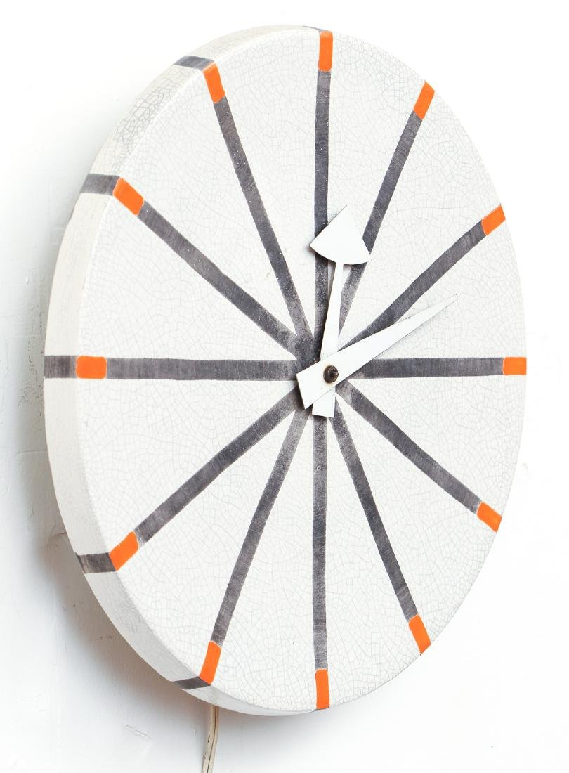 George Nelson for Meridian Howard Miller Wall Clock - 2