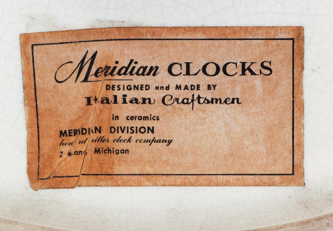 George Nelson for Meridian Howard Miller Wall Clock - 5
