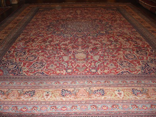 20: Antique Persian Dorosh rug