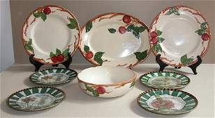 264 7 pc Apple Franciscan ware set