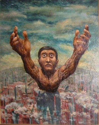 508: Emilio Alba painting Invocation