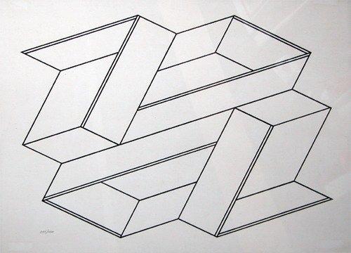 510:  Josef Albers Serigraph, Formulation Articulation