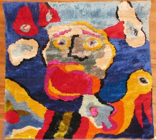 516: Karel Appel tapestry