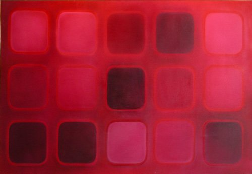 637: Aaronel Gruber Untitled Painting 1968