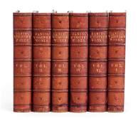 Daniel Webster, fine binding, 6 vols., Lookout Farm