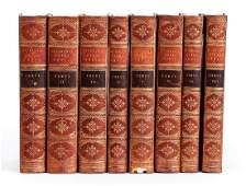 Cicero, Opera Omnia, full leather, 8 volumes, 1819