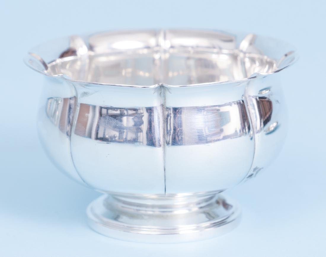 Whiting Art Deco Sterling Silver Bowl and Under Plate - 3