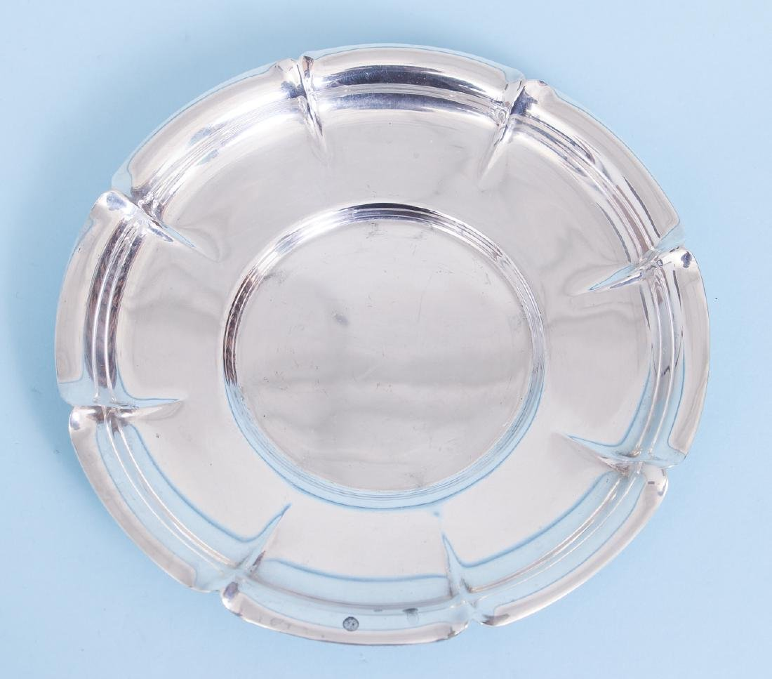 Whiting Art Deco Sterling Silver Bowl and Under Plate - 8