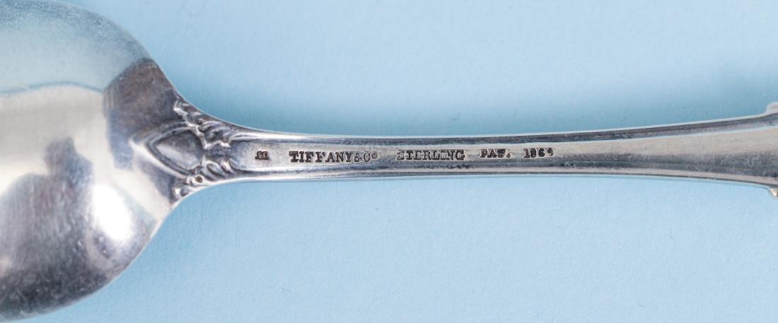 12 Tiffany & Co Monogrammed Teaspoons - 6