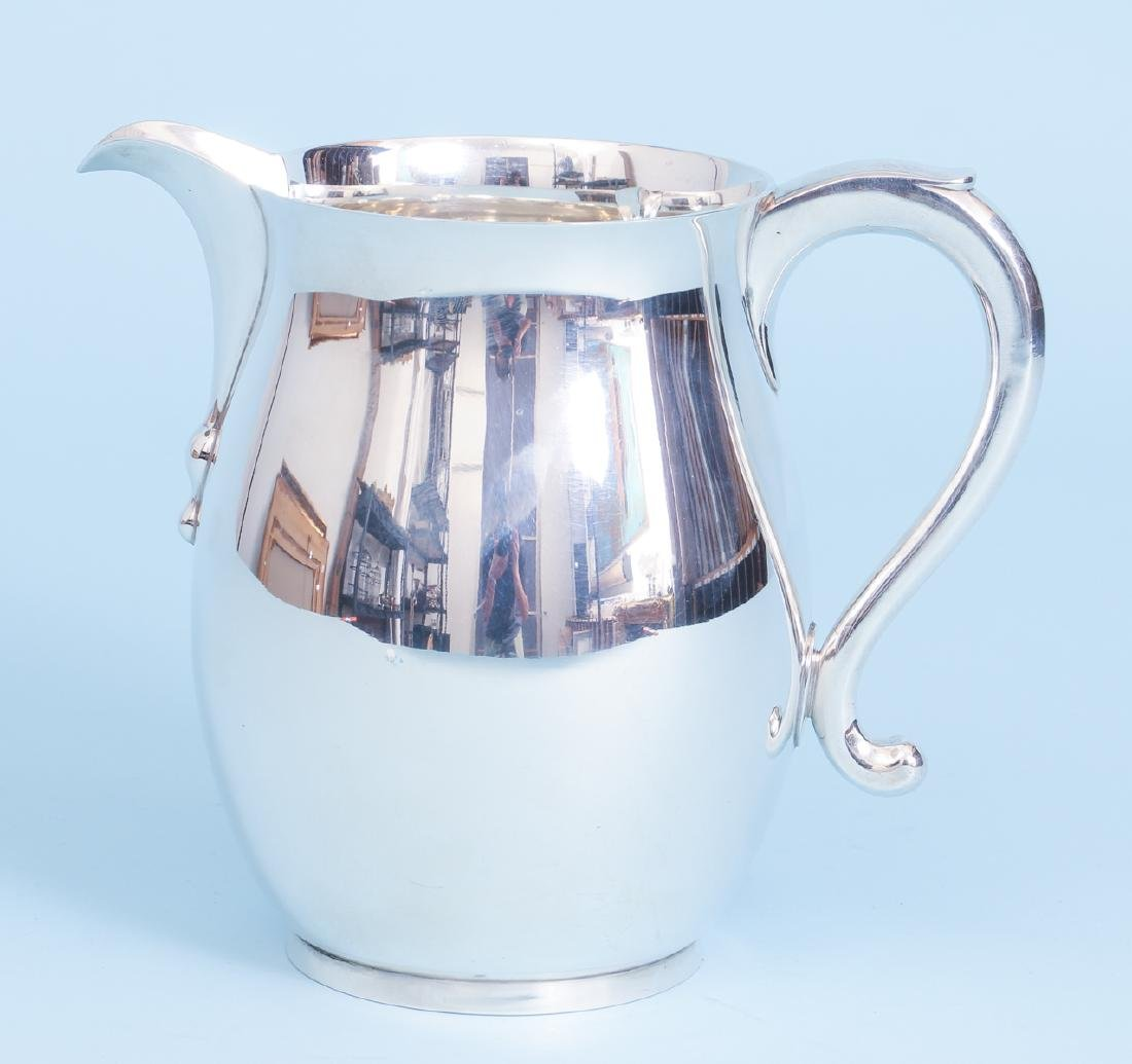 Sterling Silver Georgian Reproduction Water Pitcher
